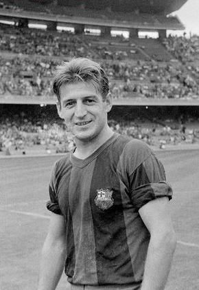 205. Zoltan Czibor was a Hungarian international who came to Spain after the Hungarian Revolution (1956) and played for Barca 1958-1961. He scored 17 goals in 38 appearances.