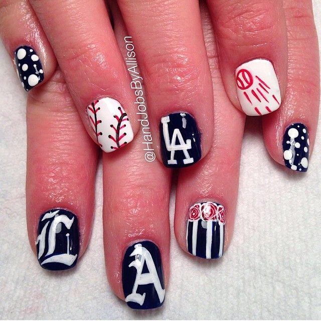 Best Nail Art Salons In Los Angeles: Best 25+ Dodger Nails Ideas On Pinterest