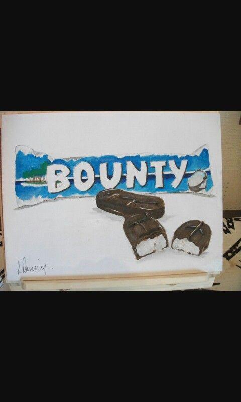 Drawing of Bounty Bar
