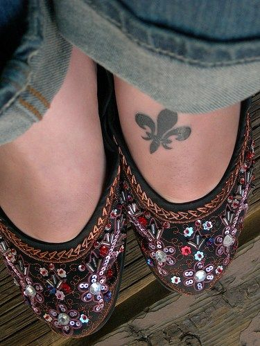 My next tattoo? I love the idea of a foot tattoo... but