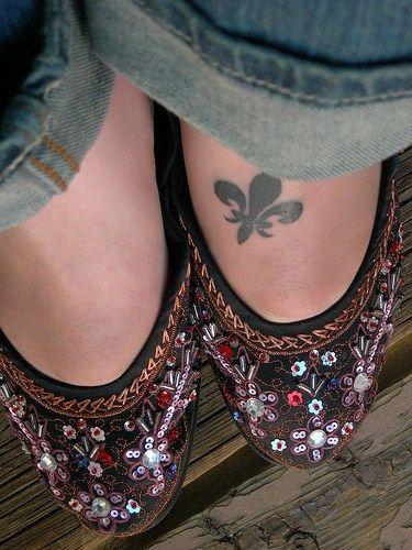 My next tattoo? I love the idea of a foot tattoo... but