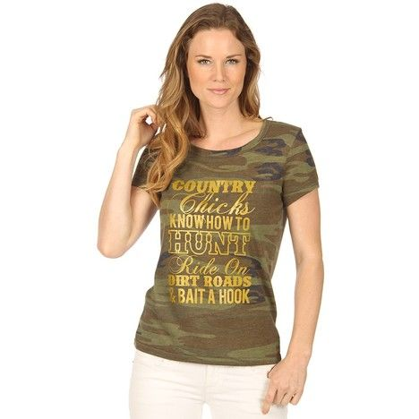 Katydid Country Chicks Know How To Hunt T-Shirt