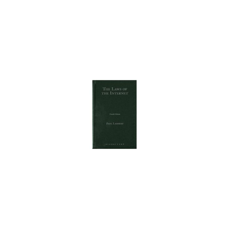 Gringras The Laws of the Internet (Hardcover) (Dr. Paul Lambert)