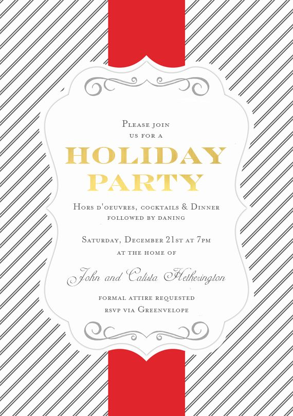14 best Gala Invite Options images – Gala Invitation Template