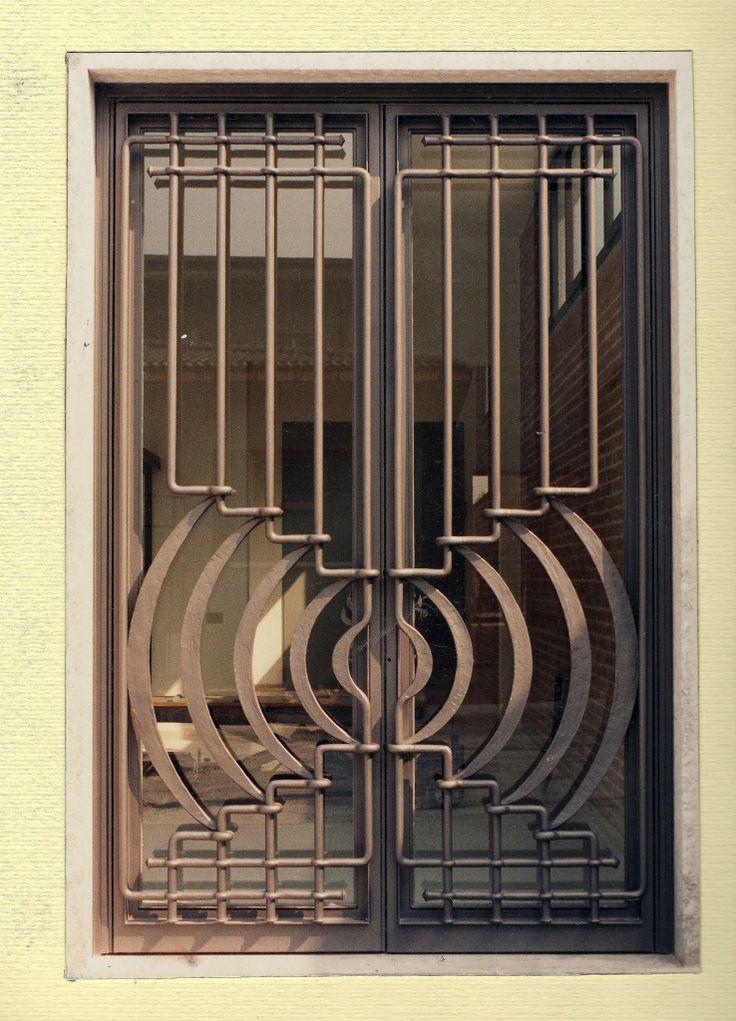 Art Deco Door, Steel Door Design