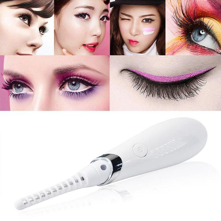 USB Electric Heated Eyelash Curler With Comb at Banggood