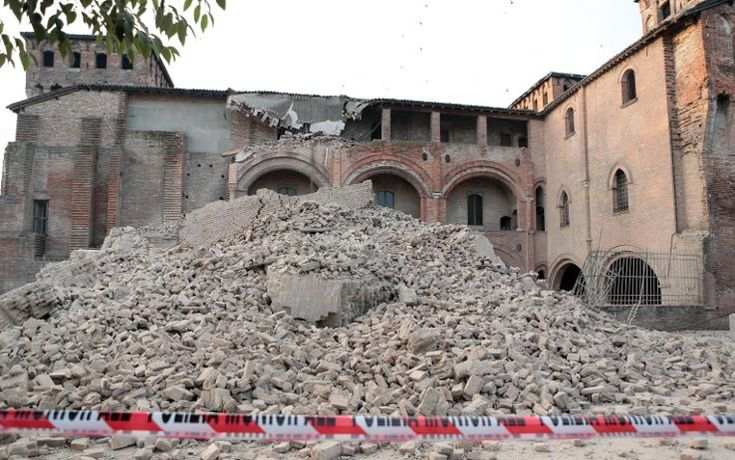 earthquake in Emilia (Italy)