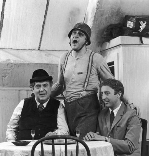 Zero Mostel, Kenneth Mars and Gene Wilder in the brilliant (and hilarious) original film of Mel Brooks' The Producers.