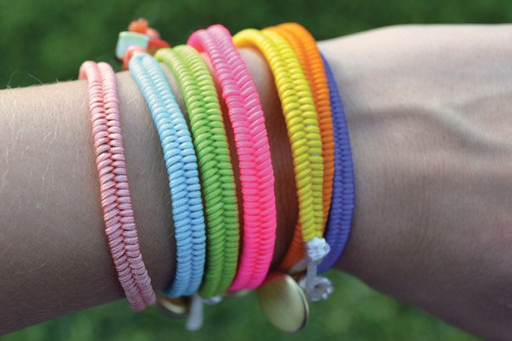 DIY-Fishtail-Bracelet-Stack