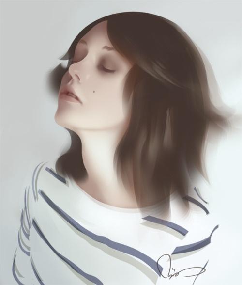 ~pijus  #digital painting #portraits #deviantart