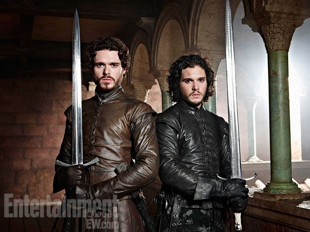 Kit Harington and Richard Madden: Game of Thrones