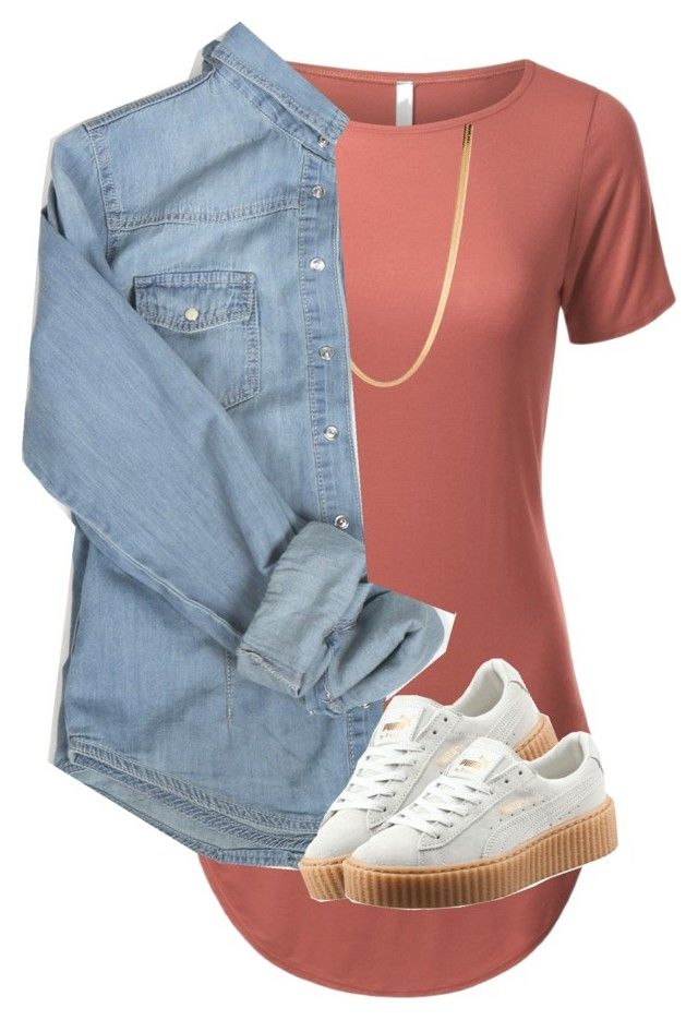 """Untitled #28"" by rosymamii on Polyvore featuring ASOS and Puma"