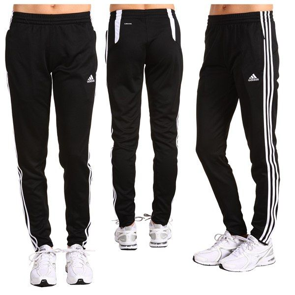 Attention Ladies! Thanks to Adidas Tiro Training Pants, you can finally get rid of your dull and boring workout sweats. If you are serious about your soccer game, then you know how important is to own quality gear. After all, the last distraction you need on the pitch is your pants.