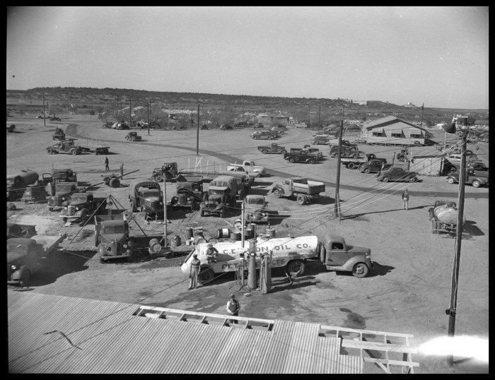 Camp Bowie Army Base Brownwood, TX - c. 1940's