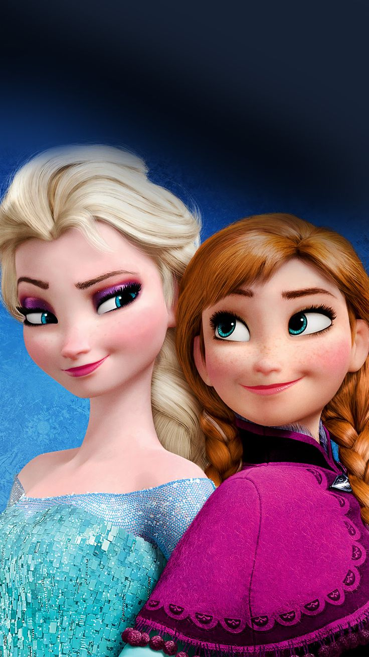 Elsa and Anna Frozen Mobile Wallpaper 3515 Frozen