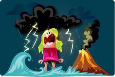 Quiz catastrophe - Volcans, orages, cyclones, tremblements de terre, raz de marée ! Effrayant ce quiz sur les catastrophes naturelles !