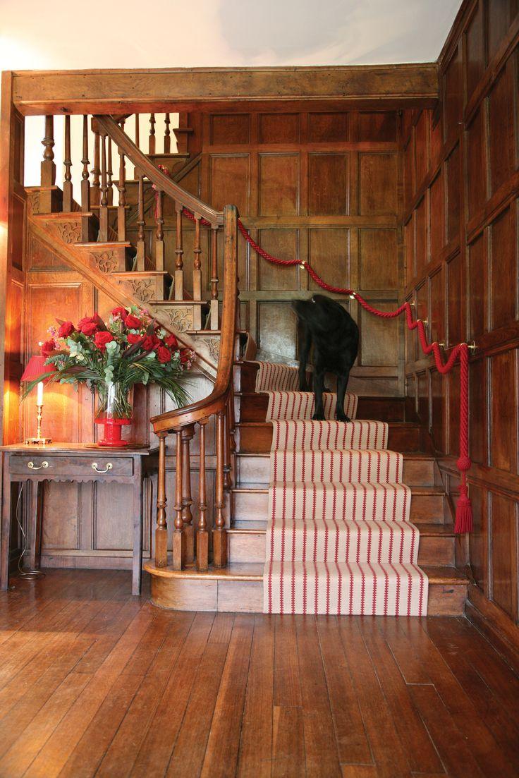 Hartley & Tissier Stripes Flatweave ZIP06 Stair runner carpet