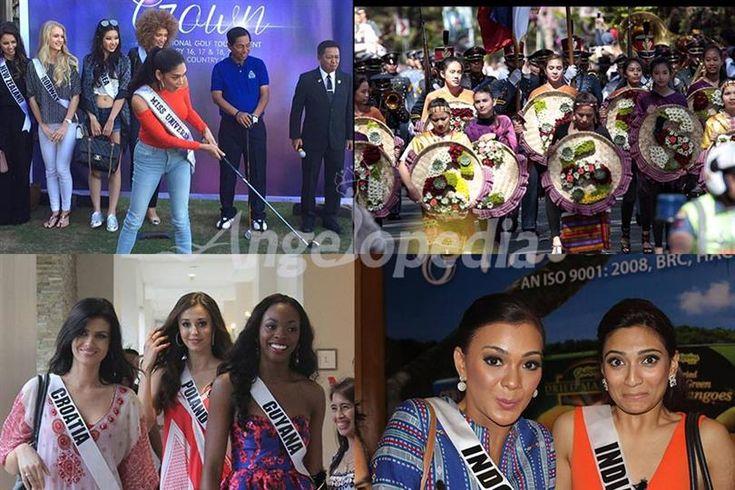 Miss Universe 2016 contestants enjoy activities with reigning queen Pia