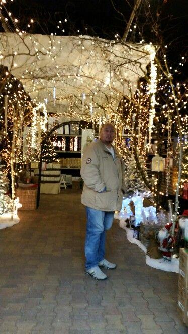 Ingang kerstmarkt, tuincentrum