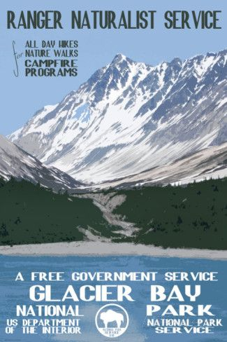 Glacier Bay Print at AllPosters.com