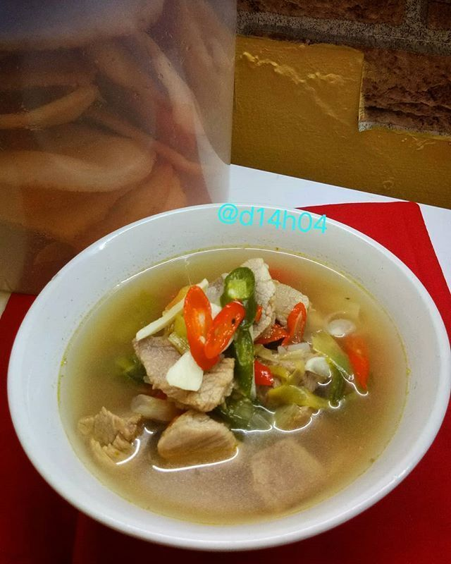 Resep Sayur Asem Daging Gurih Resep Resep Makanan Cina Sayuran