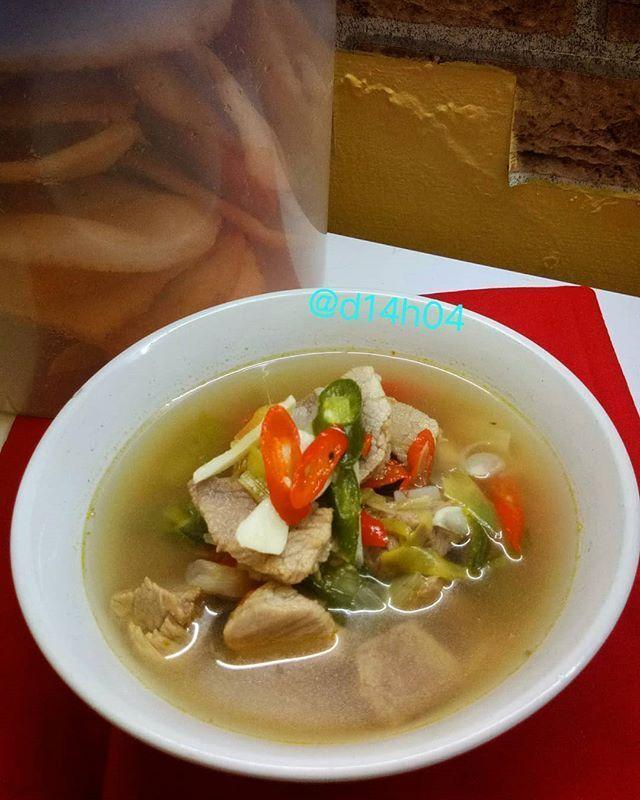 Resep Sayur Asem Sederhana : resep, sayur, sederhana, Resep, Sayur, Daging, Gurih, Resep,, Makanan, Cina,, Sayuran
