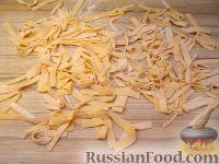 Фото к рецепту: Лапша овощная (тыквенная)