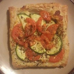 Summer Vegetable and Goat Cheese Galettes Recipe