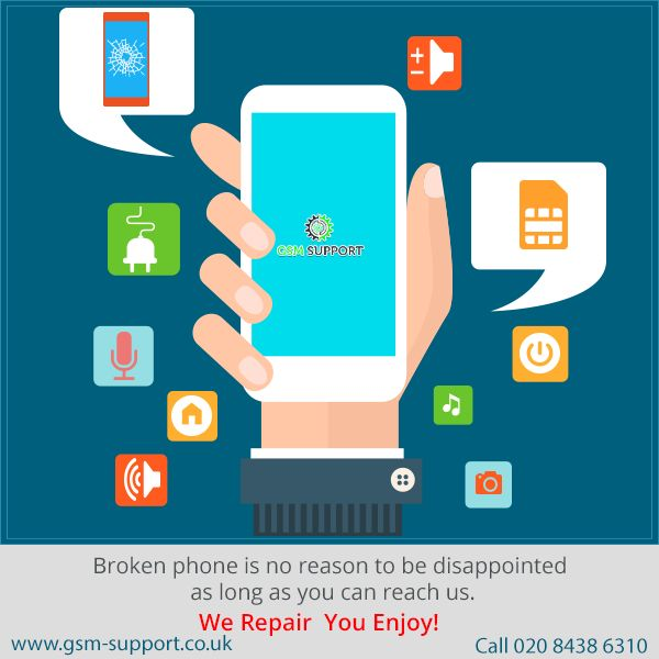 Repair Your iPhone,Mobile On affordable Cost at GSM Support