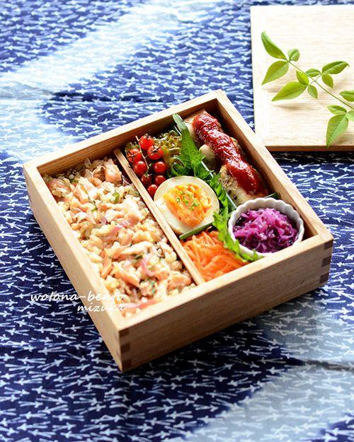 6/8 チキンソテーレモンケチャップソースの重箱弁当