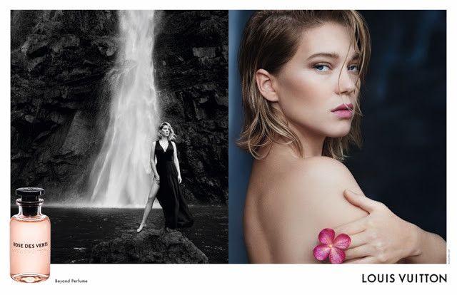 Η Léa Seydoux από τον Patrick Demarchelier για την Louis Vuitton Rose des Vents perfume campaign
