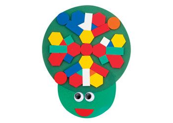 Turtle Mosaic Craft Activity