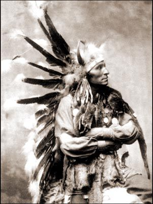 Chief Little Horse - Oglala Sioux - 1898.