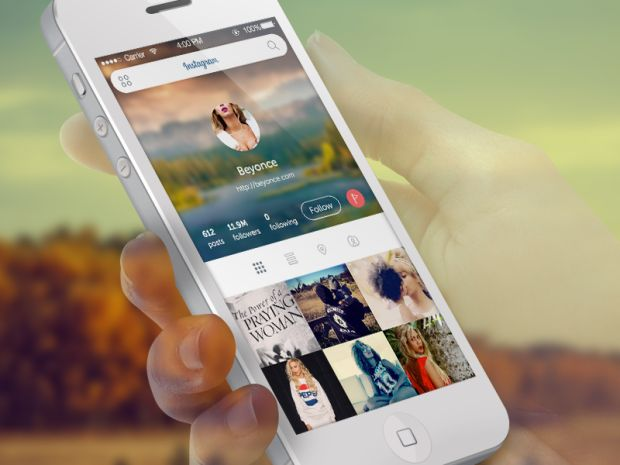 instagram 2x 620x465 15 Absolutely Gorgeous iOS7 App Designs