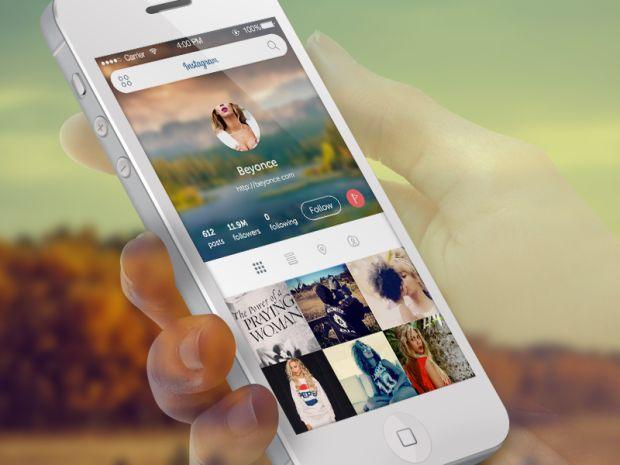 instagram 2x 620x465 15 Absolutely Gorgeous iOS7 App Designs
