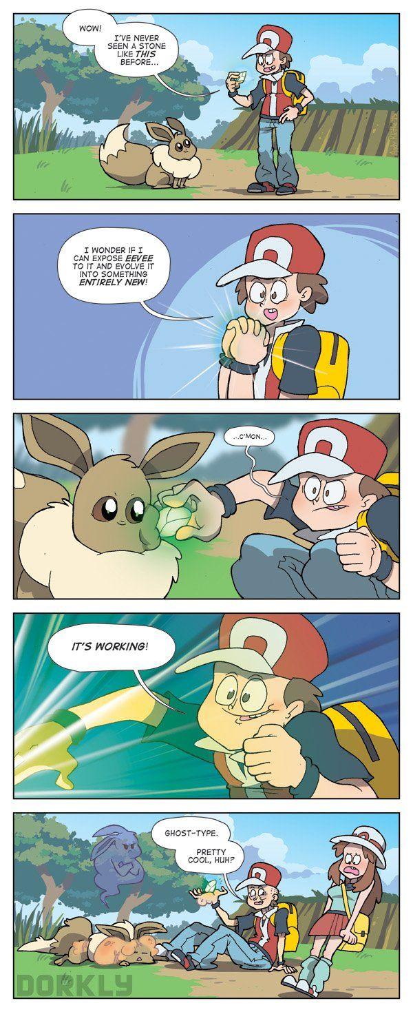 Eevee's Newest Evolution #dorkly #pokemon #geek