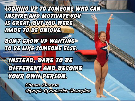 Shawn Johnson Gymnastics Poster Champion by ArleyArtEmporium, $15.99