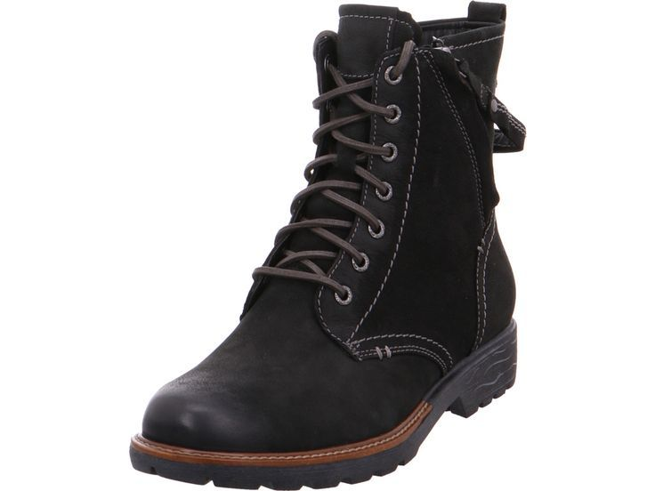 Jana Ladies Da. Boots Winterstiefel Stiefel Ankle Boots Warm