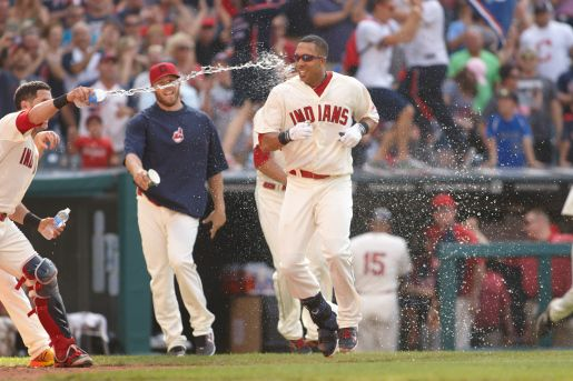 Photo Gallery: Michael Brantley walk-off, anyone? « TribeVibe