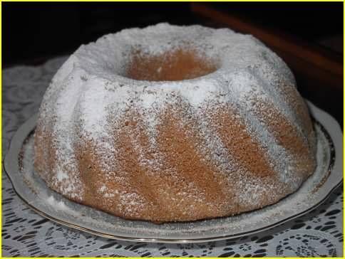 Tulband cake 170C, 50-60 minutes, 225 gram selfrising flour 225 gram butter 225 gram sugar 1 tsp-1tbsp vanilla extract 4 eggs cream the butter with the sugar, add 1 egg at a time, add vanilla extract, add flour gently, don't overmix