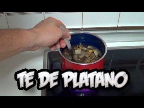 Como Hacer Te de Plátano Abono de Potasio   Recetas de Cocina Casera - Recetas fáciles y sencillas