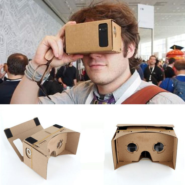 Google 3D Glasses Cardboard Valencia VR Virtual Reality For Phone Samsung HTC LG #UnbrandedGeneric