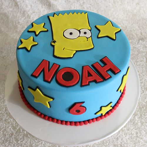 Bart Simpson cake by Cutie Cakes