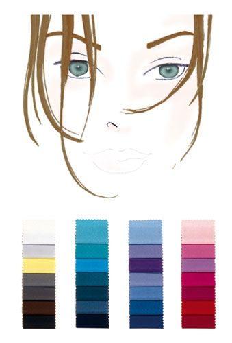 Farbtyp mittel-kalt: die perfekten Farben