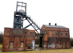 Barnsley Main colliery, S.Yorks, March2017