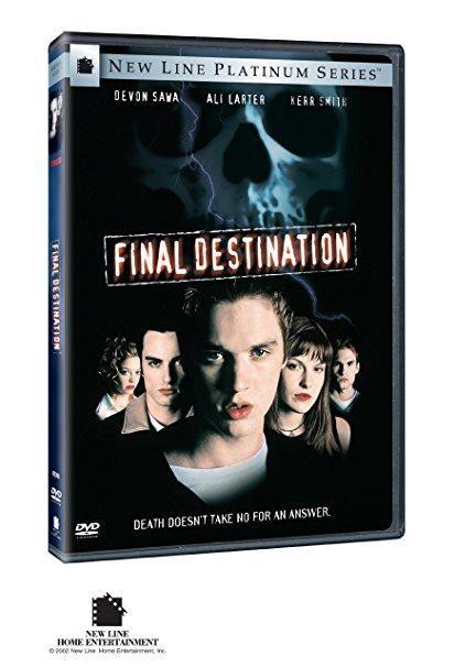 Final Destination(DVD /Platinum Series / WS / 5.1 / DVD-ROM / Commentarys / Score) Devon Sawa; Ali Larter; Kerr Smith; Barbara Tyson; Kristen Cloke; Amanda Detmer; Chad Donella; Brendan Fehr; Seann William Scott; Tony Todd