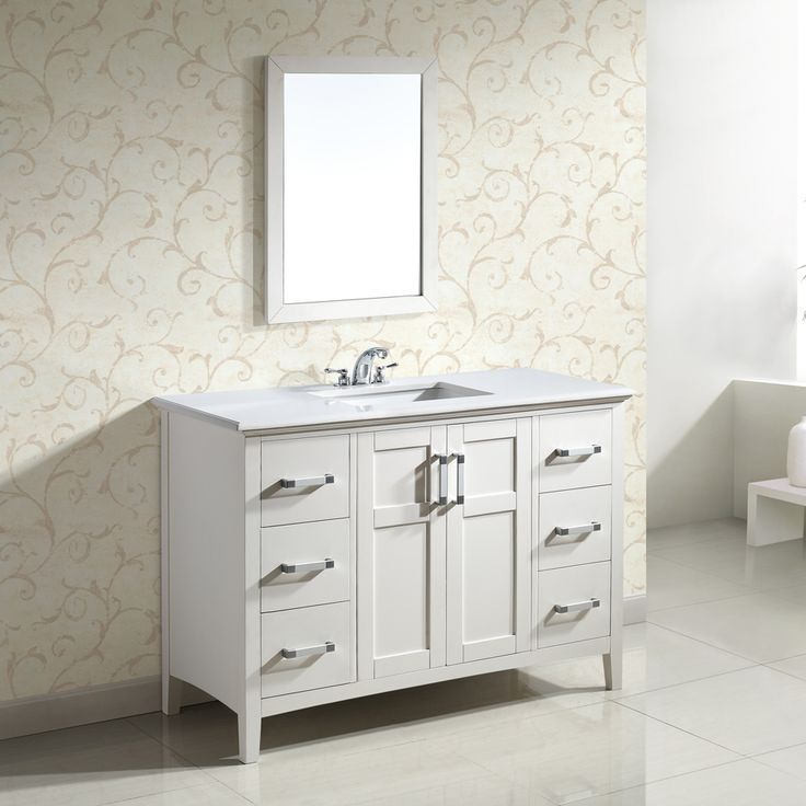 Marble top great deals and shopping on pinterest for Bathroom vanity packages