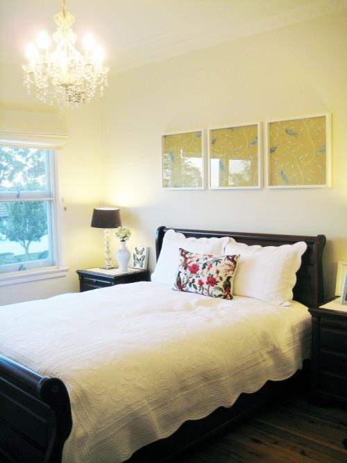framed patterned paper: Frames Wallpapers, Bedrooms Design, Traditional Bedrooms, White Bedrooms, Master Bedrooms, Bedrooms Updates, Bedrooms Ideas, Bedrooms Wall, Wallpapers Design