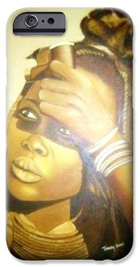 Young Himba Girl iPhone 6 Case by Tracey Armstrong