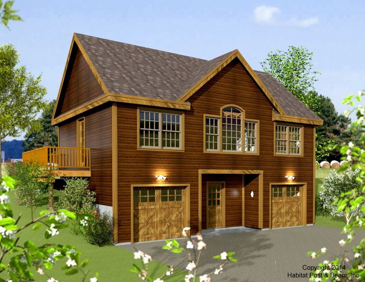 Habitat post beam vaca house plans pinterest beams for Post and beam carriage house plans